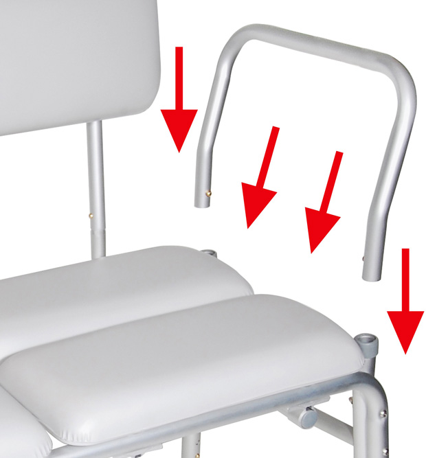 Drive Medical Design Padded Transfer Bench Tool Free