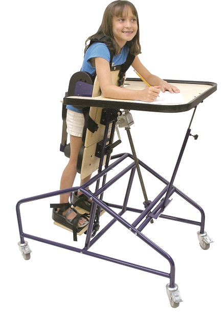 Fabrication Enterprises TUGS Prone Stander :: Mobility :: Pediatric ...