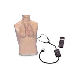 Nasco Life/form Auscultation Trainer and Smartscope and Amplifier/Speaker System