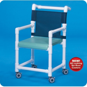 Innovative Products Unlimited Deluxe Shower Chair with Solid Seat