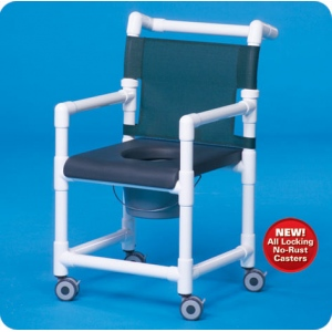 Innovative Products Unlimited Deluxe Shower Chair/Commode with Closed Seat