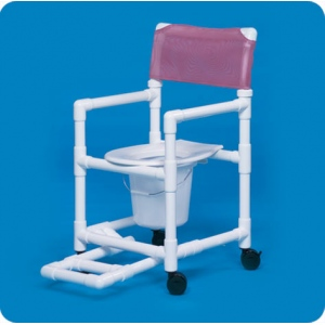 Innovative Products Unlimited Standard Shower Chair Commode with Footrest