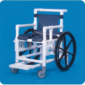 Innovative Products Unlimited Shower Access Chair with Deluxe Open Front Soft Seat
