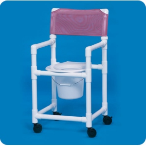 "Innovative Products Unlimited Standard Shower Chair Commode: 17"" Clearance"