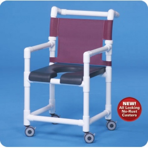 Innovative Products Unlimited Deluxe Shower Chairs with Open Front Seat