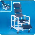Innovative Products Unlimited Super Deluxe Reclining Shower Chair Commode