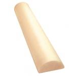 Fabrication Enterprises CanDo Foam Roller: Antimicrobial, Beige PE Foam, 6 x 12 Inch, Half Round