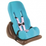 Special Tomato Floor Sitter: Teal, Seat and Wedge, Size 2