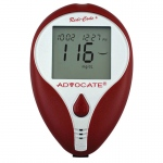 Advocate Redi-Code Plus Non-Speaking Blood Glucose Meter